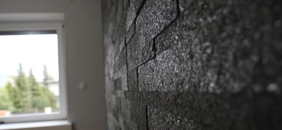 Dekoracje, które posiadają głębię - poznaj kamień w formie 3D na ścianę