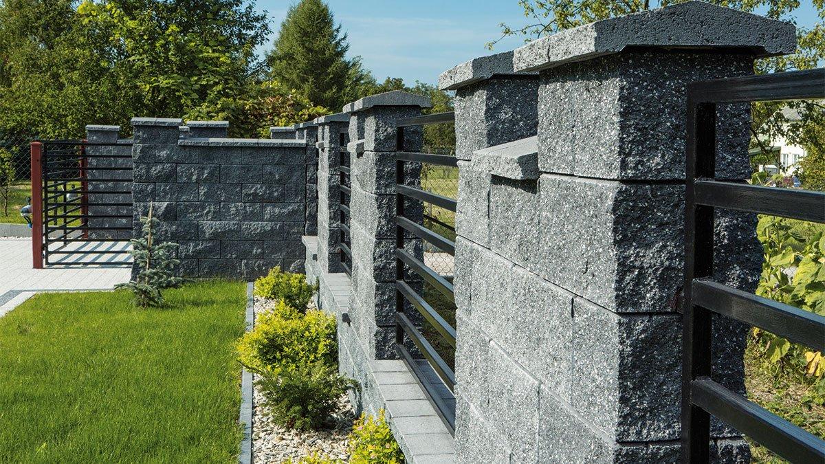 Ogrodzenie granitowe