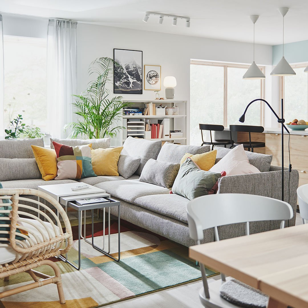 Salon z Katalogu IKEA 2021
