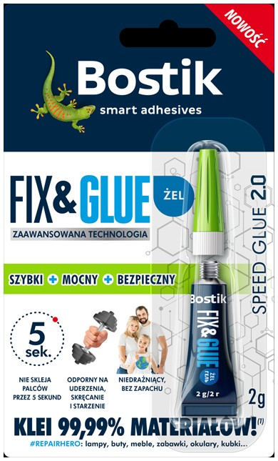 Bostik Fix & Glue Żel