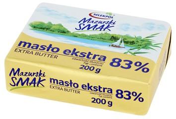 masło ekstra Mazurski Smak