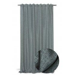rideau 200 x 270 cm a galon fronceur grande largeur effet lin chine naturel vert