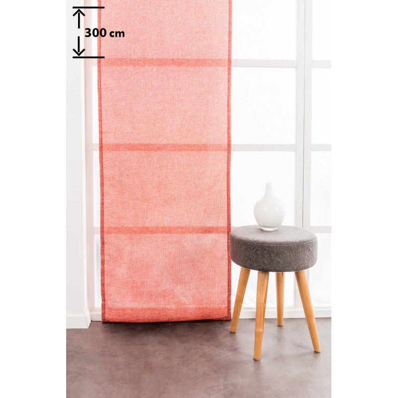 panneau japonais 60 x 300 cm tamisant grande hauteur chine uni rouge