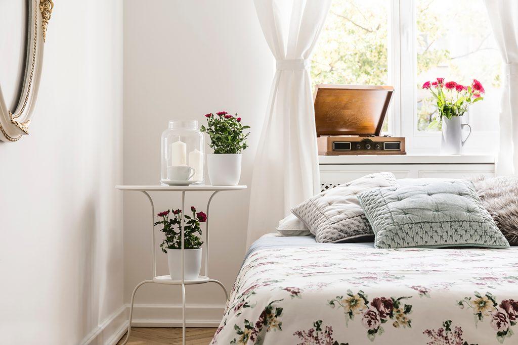 quels rideaux pour un style romantique