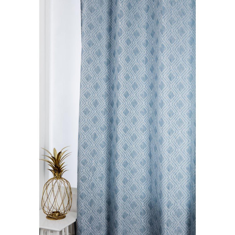 notre selection de rideaux bleus blog
