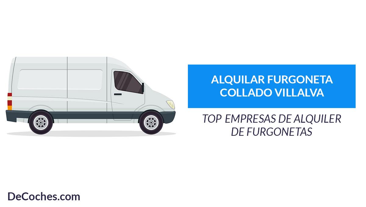 Empresas de alquiler de furgonetas en Collado Villalba