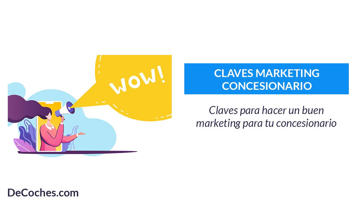 Marketing concesionario