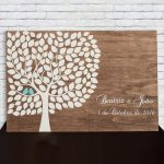Quadro de Honra com Árvore e folhas modelo 3