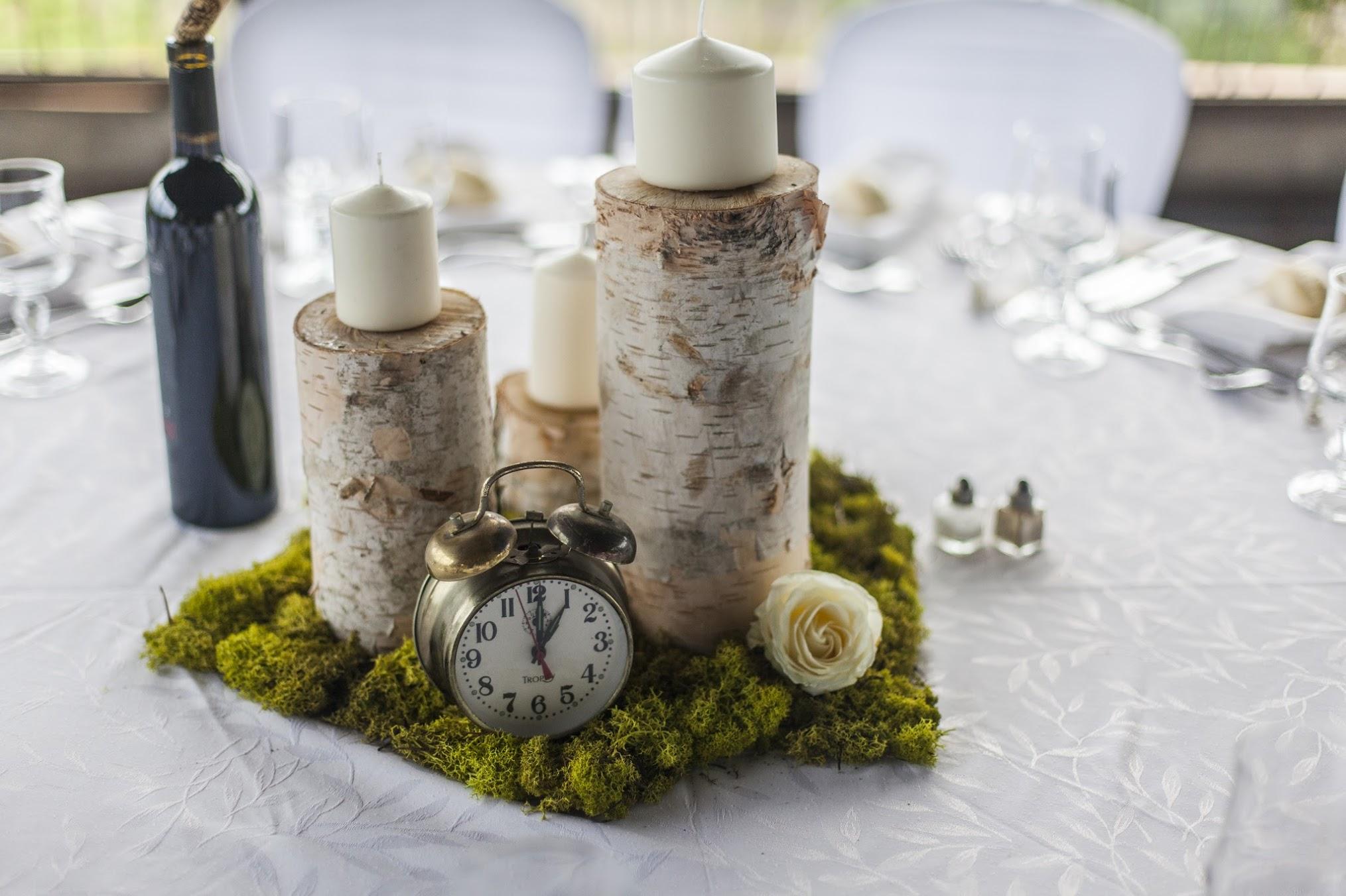 bouleau dans la déco (mariage) #3