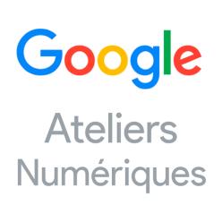 Logo de l'atelier numérique de Google, qui t'apprend tout sur le marketing digital et le référencement