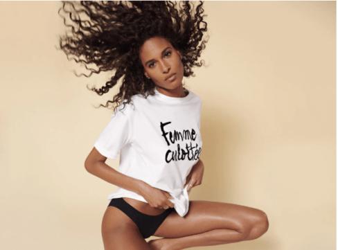 Campagne publicitaire d'Etam pour la journée de la femme