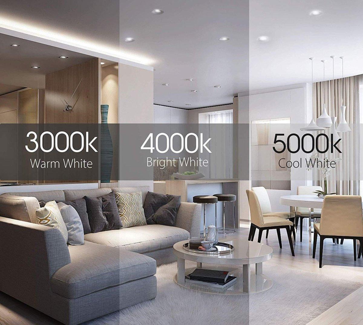 3000K-5000K