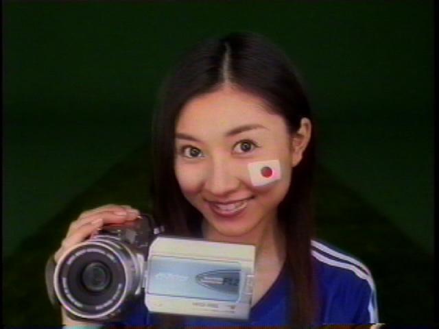 日本ビクター広告(TVCM・新聞・雑誌)フェイスペインティング制作【動画】