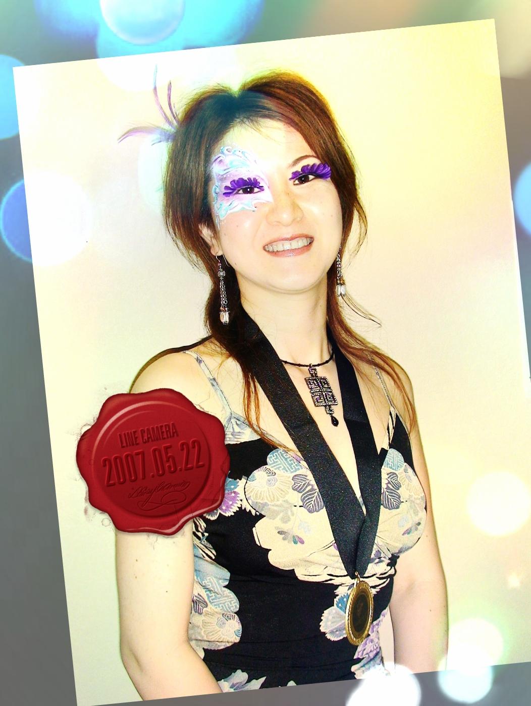 フェイス&ボディアート国際大会(米国)にて深井代表が優勝しました!