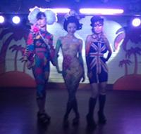 東京湾納涼船2012「ボディペインティングショー」