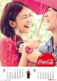 コカ・コーラ2013カレンダー ボディペインティング