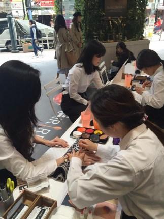 2016.4.23渋谷モディ/ヘアレシピ街頭プロモーションの画像