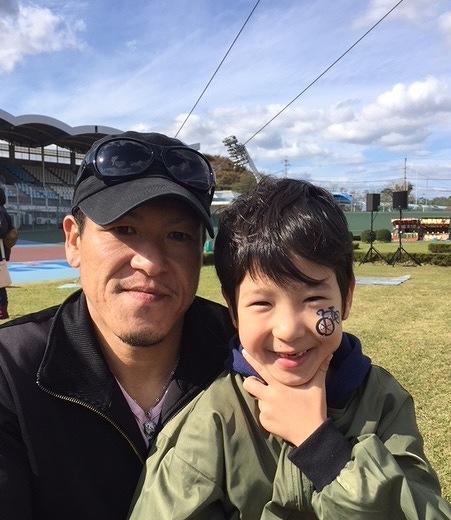 久留米競輪場/フェイス&ボディペインティングブース