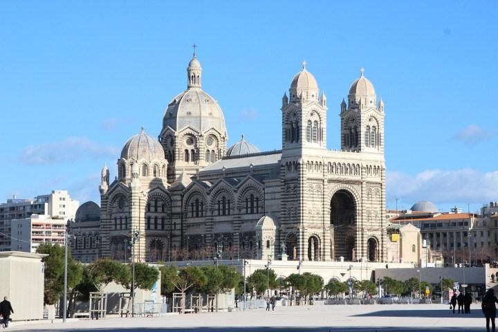 Cathédrale Sainte-Marie-Majeure de Marseille.