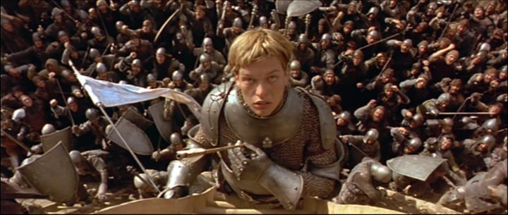 Scène du film Jeanne d'Arc : Milla Jovovich