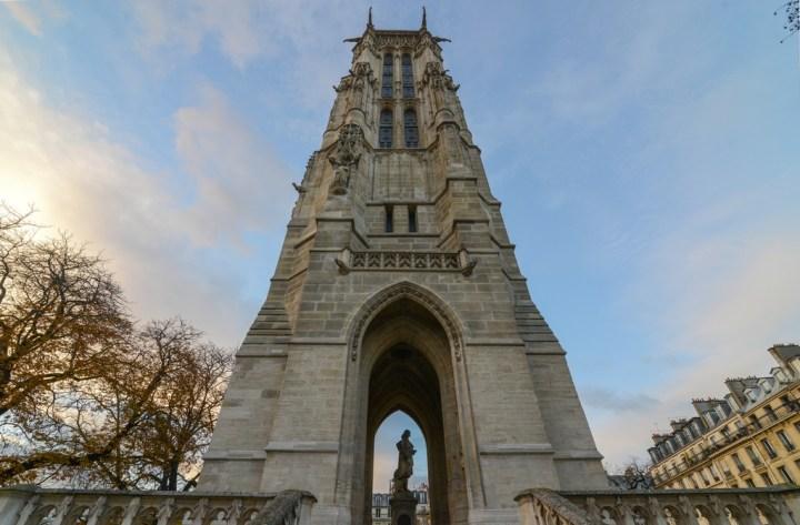 Tour Saint-Jacques de la Boucherie à Paris