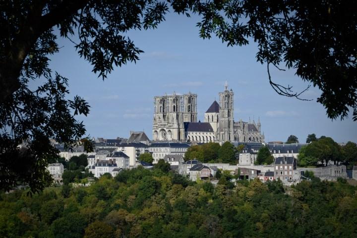 La cathédrale de Laon, l'une des plus impressionnantes de France.