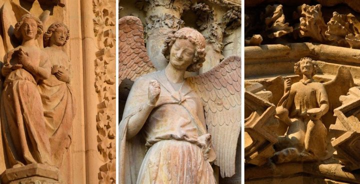 anges de la cathédrale de Reims