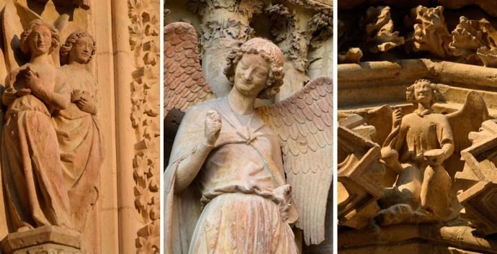 anges de la cathédrale de Reims