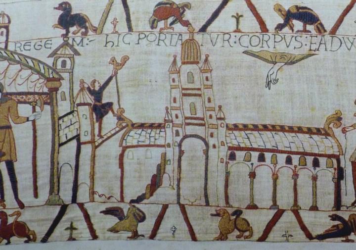 coq de la tapisserie de Bayeux