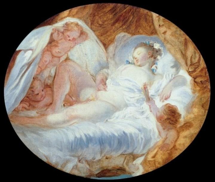 Tableau de Fragonard, Feu aux poudres