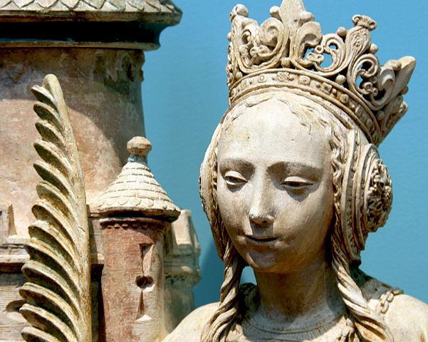 Statue de saint Barbe