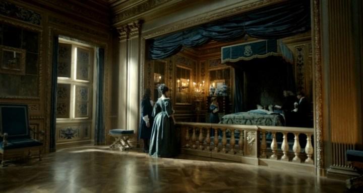 La chambre du roi au château de Versailles