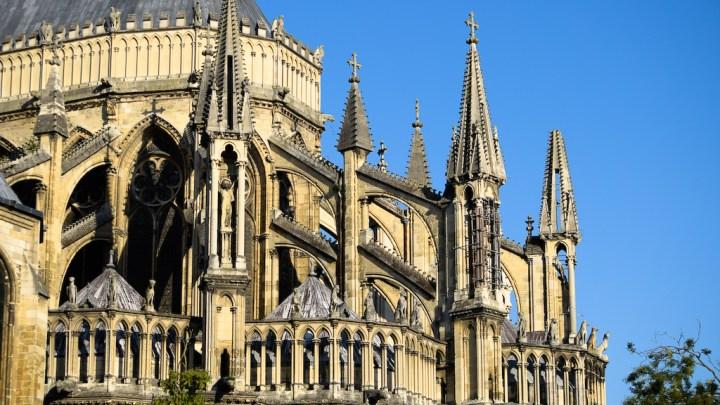 arc-boutant à Reims