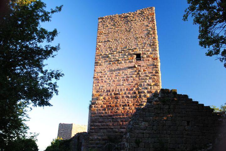 Un des châteaux d'Eguisheim en Alsace