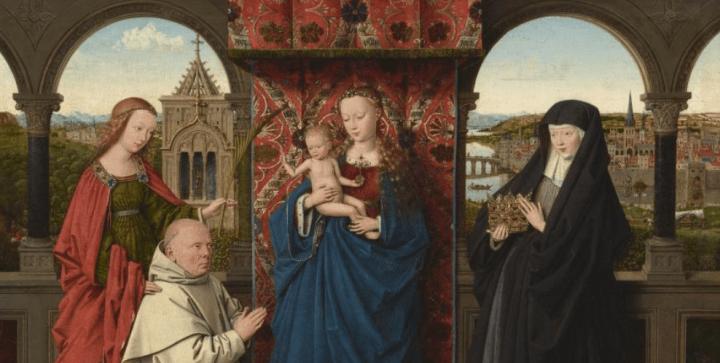 Sainte Barbe et sainte Elisabeth