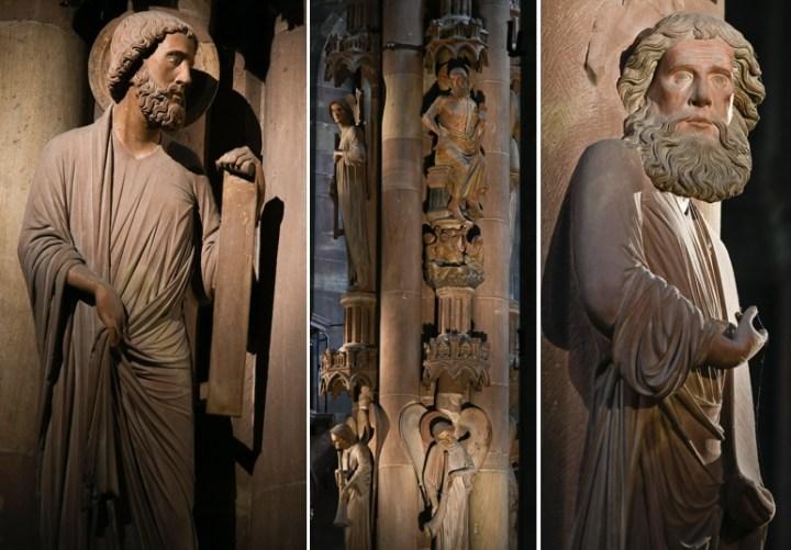 Pilier des anges à Strasbourg