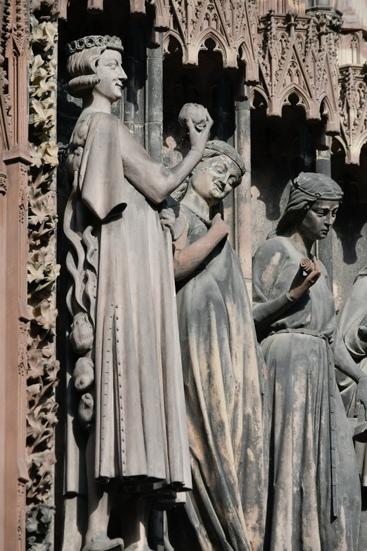 Le tentateur de la cathédrale de Strasbourg