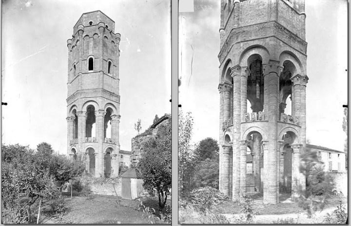 Tour Charlemagne de Charroux