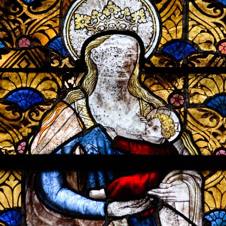 Vierge allaitante