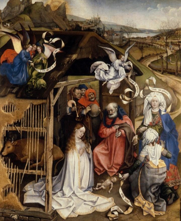La Nativité de Robert Campin