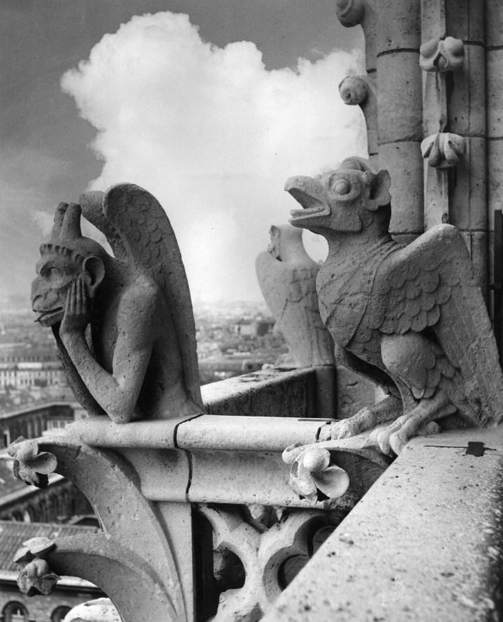 Chimères de la cathédrale Notre-Dame de Paris