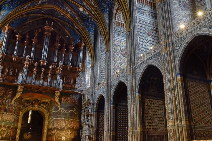 Nef et orgue de la cathédrale d'Albi