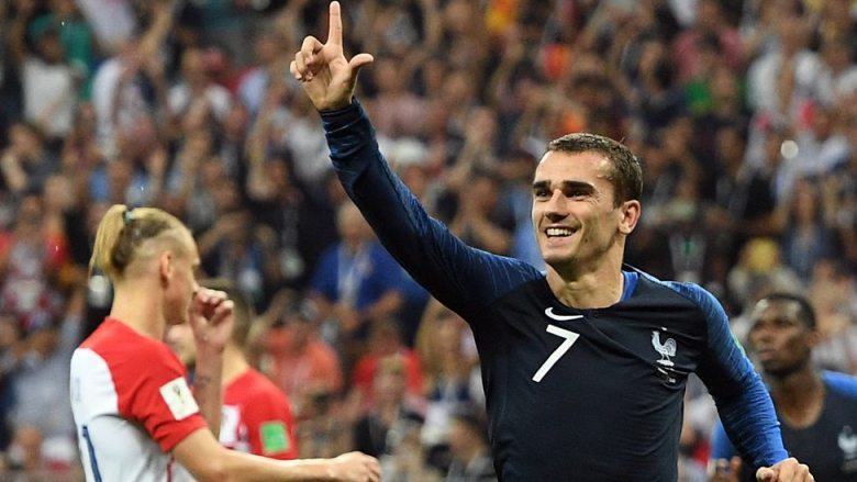 Antoine Griezmann, le meilleur joueur de l'équipe de France 2018