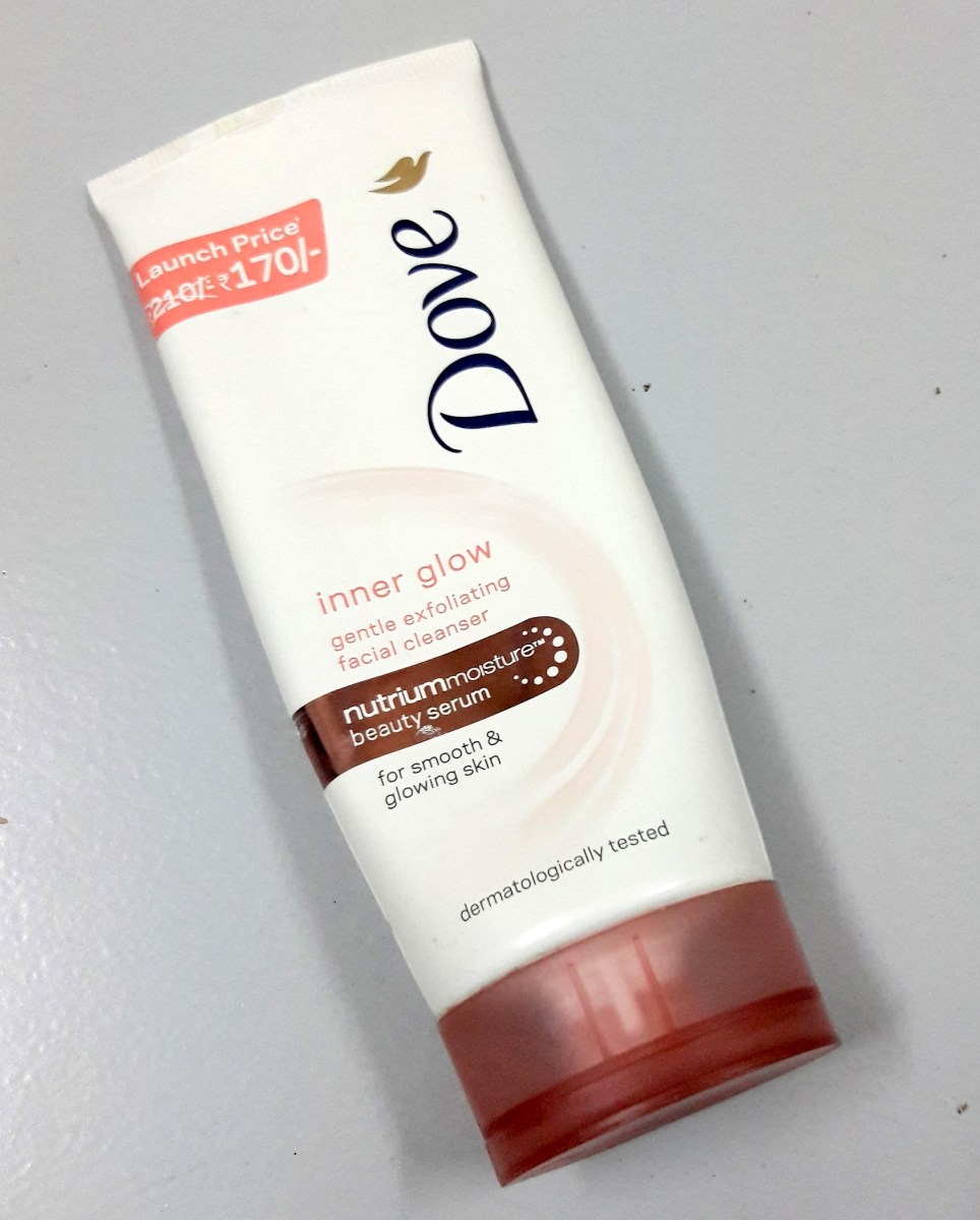 Dove Inner Glow Gentle Exfoliating Facial Cleanser Review
