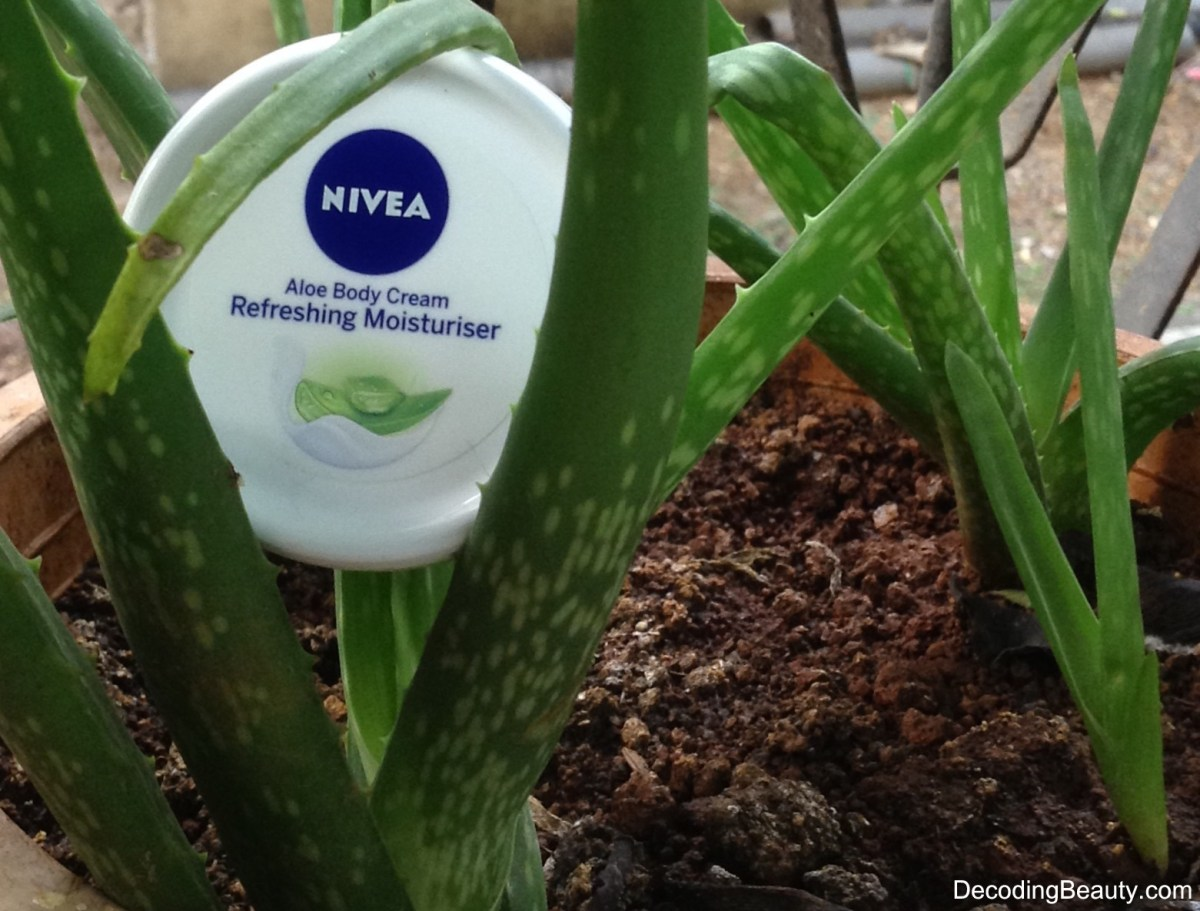 Nivea Aloe Body Cream Refreshing Moisturizer