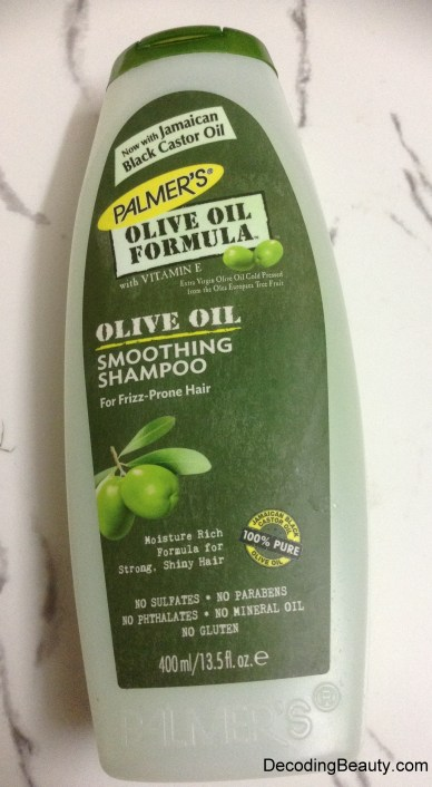 Palmer's Olive Oil Shampoo Review - Decoding Beauty