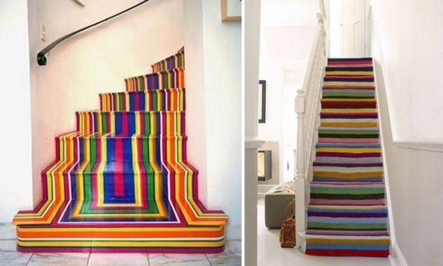 İç mekanlarımız için sarmal ve orijinal merdivenler.