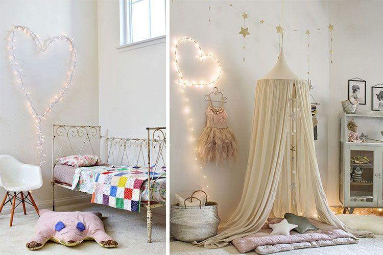 LED'li çocuk odası dekorasyonu