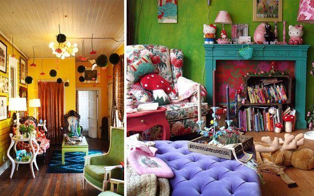 Kitsch tarzı ile ev dekorasyonu