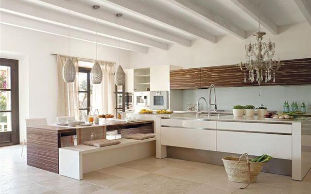 Çağdaş tarzda bir ofis ile mutfaklar nasıl dekore edilir